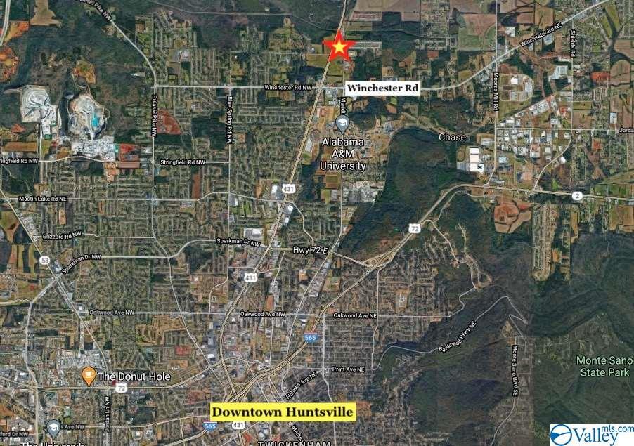 0 Memorial Parkway North, Huntsville, AL 35810