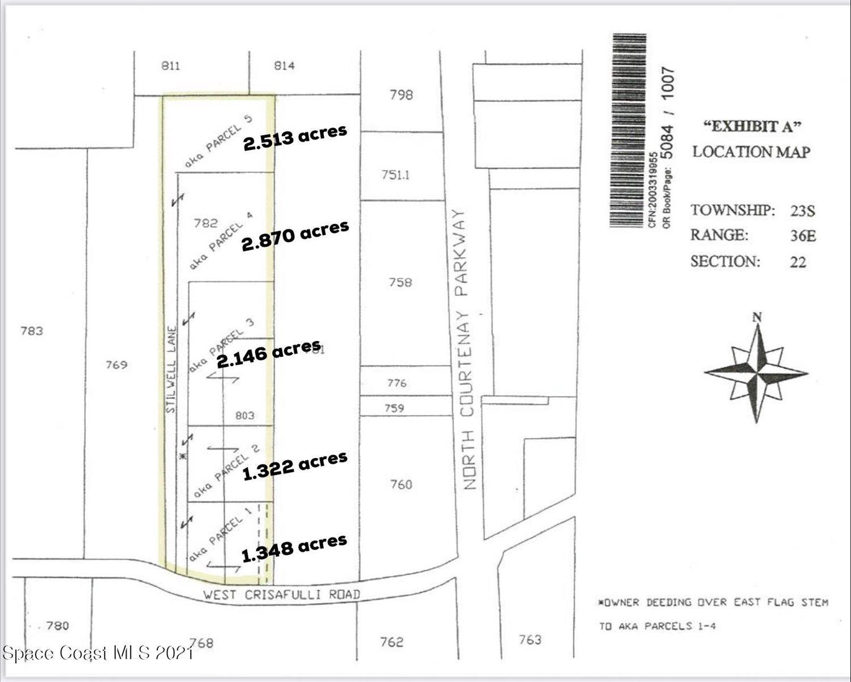 00000 West W Crisafulli Road Road, Merritt Island, FL 32953
