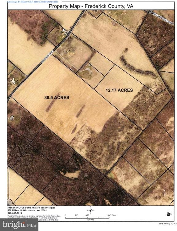 Singhass Road, #50.67 Acres, Winchester, VA 22602