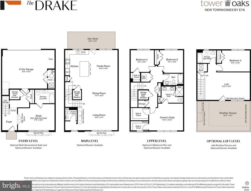 3722 Blue Lobelia Way, The Drake Lot 608, Rockville, MD 20852