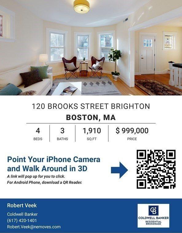 120 Brooks Street, #1, Boston, MA 02135