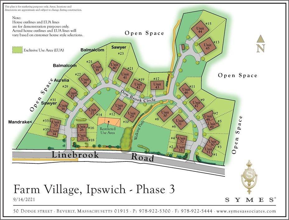 33 Dow Brook Cir (Floor Plan B), #Eua 35, Ipswich, MA 01938