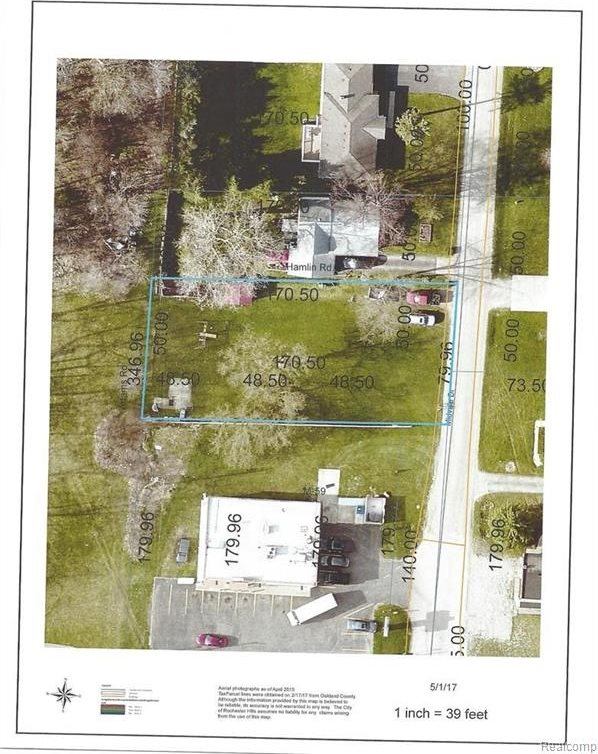 Buildable Lot Midvale Drive, Rochester Hills, MI 48309