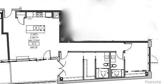 400 South Old Woodward Ave Unit 217, Birmingham, MI 48009