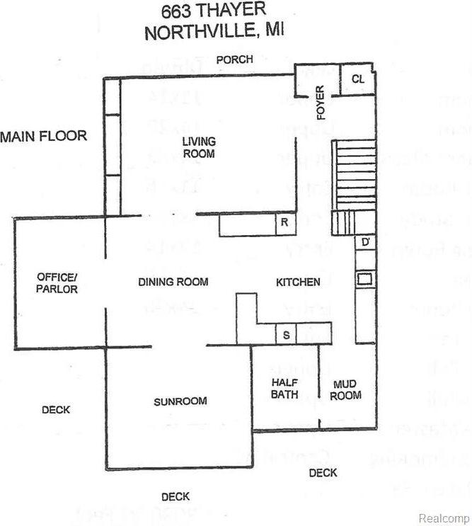 663 Thayer Boulevard, Northville, MI 48167