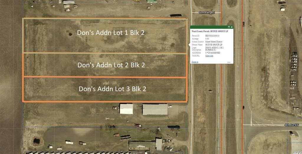 Dons Addition Lots 1-3 NW, Minot, ND 58703