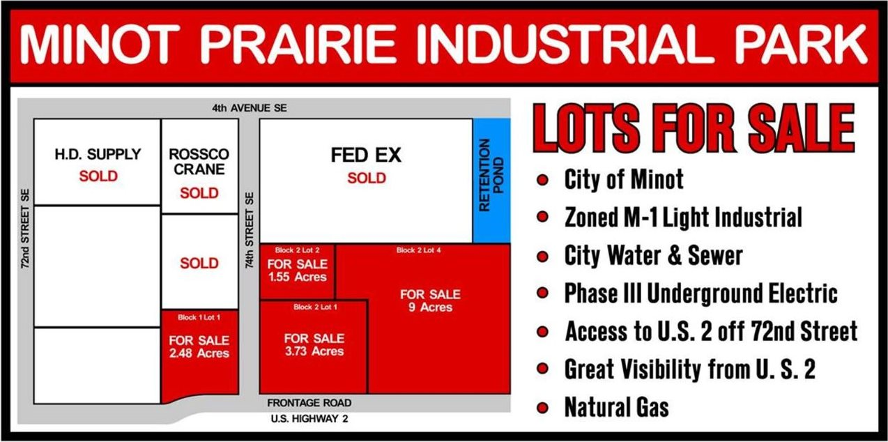 Minot Prairie Ind Park, Minot, ND 58701