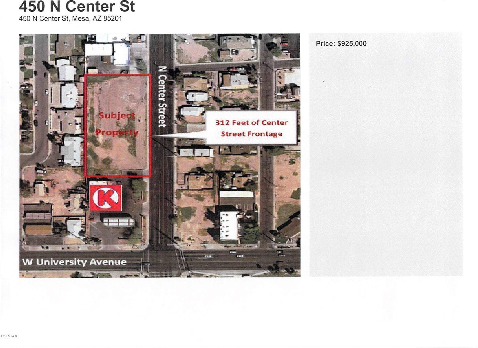 450 North Center Street, Mesa, AZ 85201