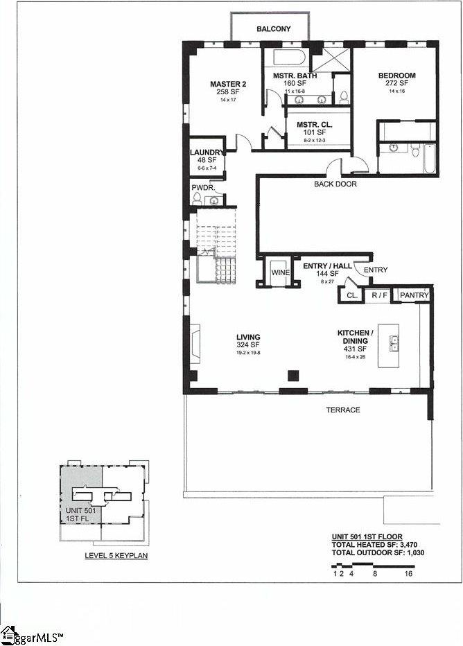 702 South Main, Unit 501, Greenville, SC 29601