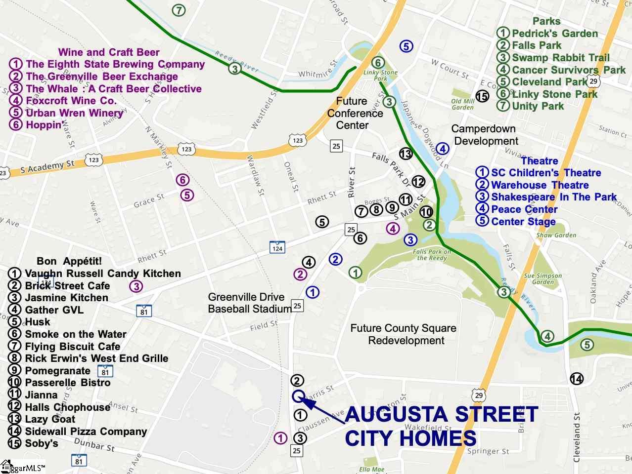 327 Augusta, Lot #7, Greenville, SC 29601