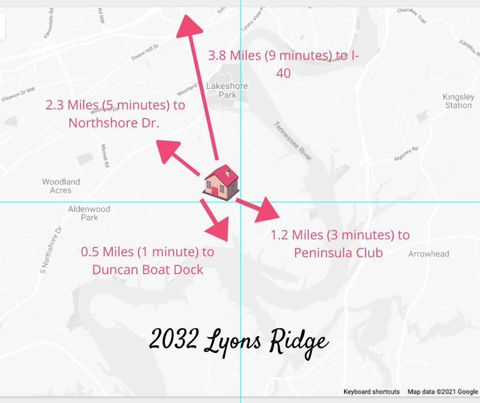 2032 Lyons Ridge Rd, Knoxville, TN 37919