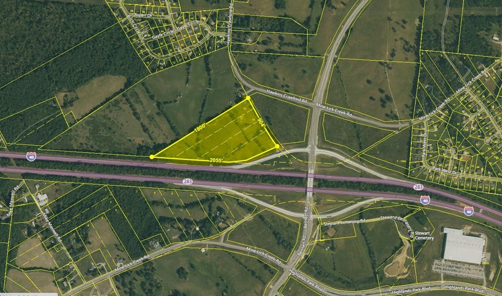 23.2 Ac Hawkins Crawford Road, Cookeville, TN 38501